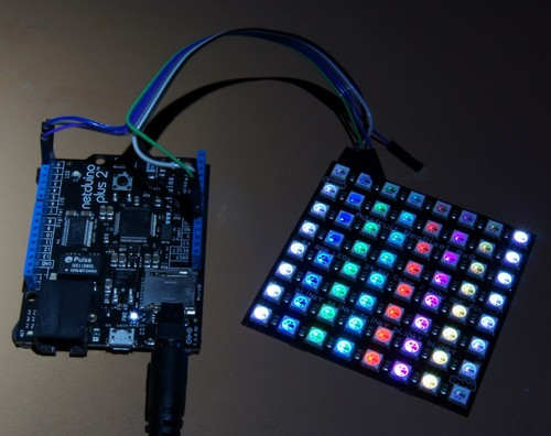 Using NeoPixels with Netduino Plus 2