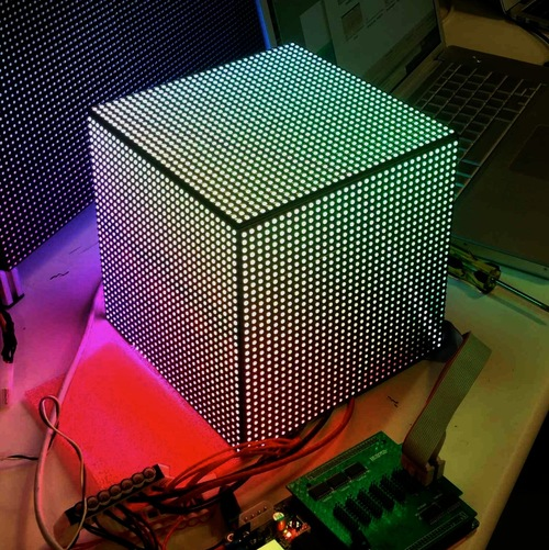 DIY LED Video Cube