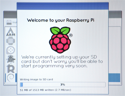 Setting up a Raspberry Pi with NOOBS