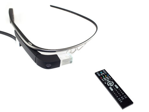 Make a Google Glass remote with Bluefruit