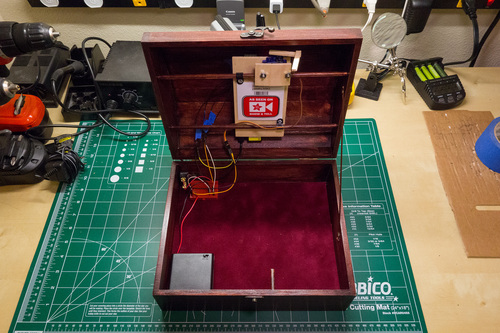 Raspberry Pi Face Recognition Treasure Box