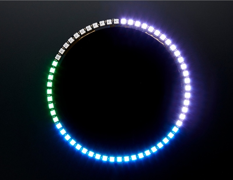 overview neopixel 60 ring wall clock adafruit learning system. Black Bedroom Furniture Sets. Home Design Ideas
