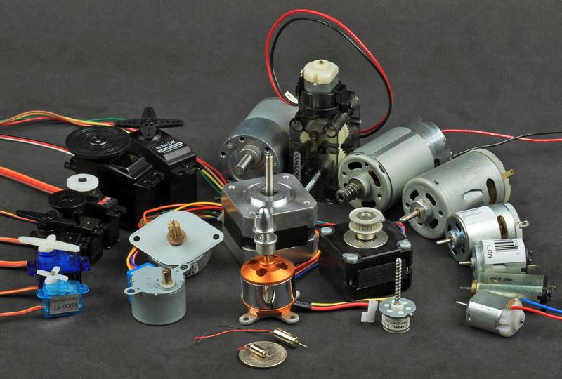 Stepper Motor Control Adafruit Motor Selection Guide