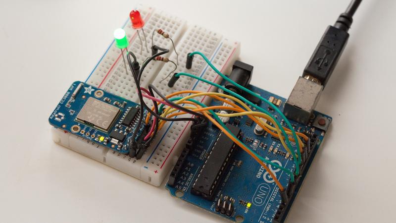 Arduino - ArduinoWiFiShield