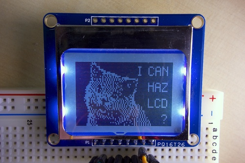 Nokia 5110/3310 LCD Python Library