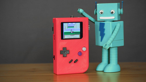 PiGRRL - Raspberry Pi Gameboy