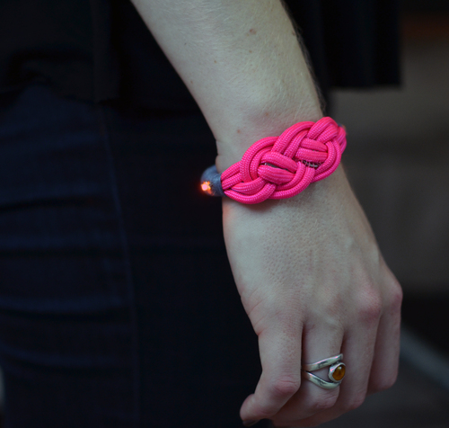 LED Friendship Bracelet