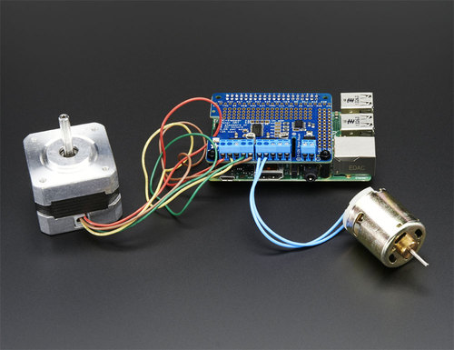 Adafruit DC and Stepper Motor HAT for Raspberry Pi
