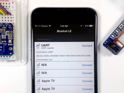 Bluefruit LE Connect for iOS