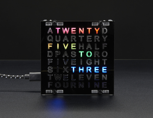 NeoMatrix 8x8 Word Clock