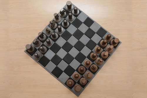 Adafruit 3D Printed Chess Set