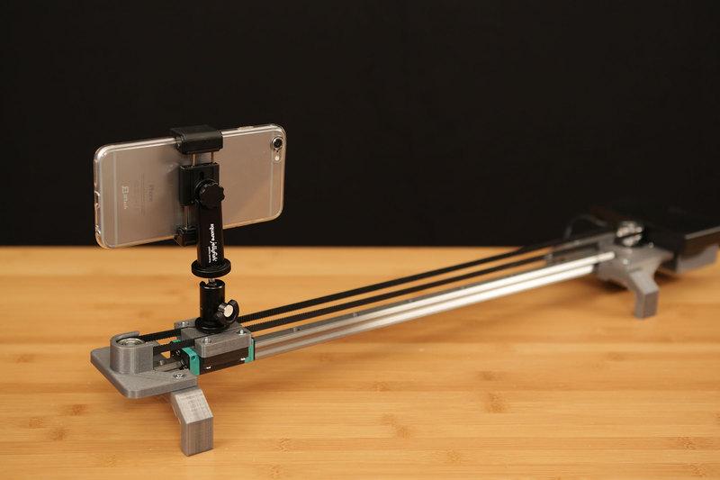 Arduino motorised camera slider v01 - YouTube