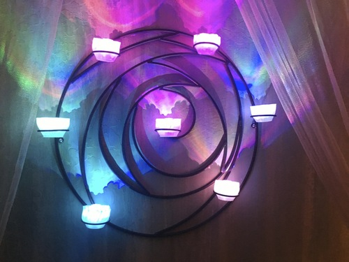 Remote Controlled LED Tea Light Sconce