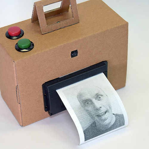 Instant Camera using Raspberry Pi and Thermal Printer