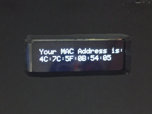 MAC Address Finder