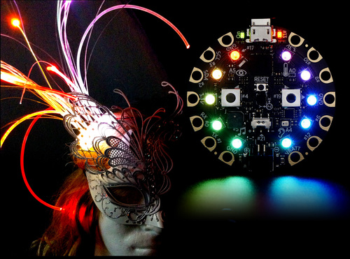 Circuit Playground & Fiber Optics