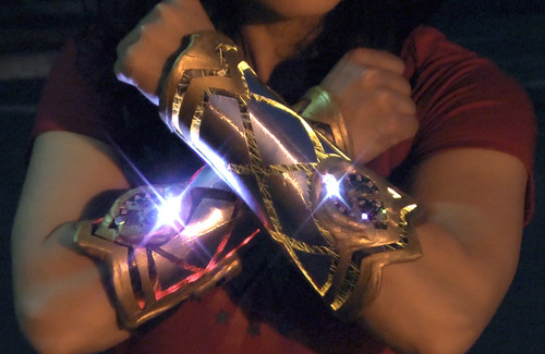 Wonder Woman Cosplay Bracers