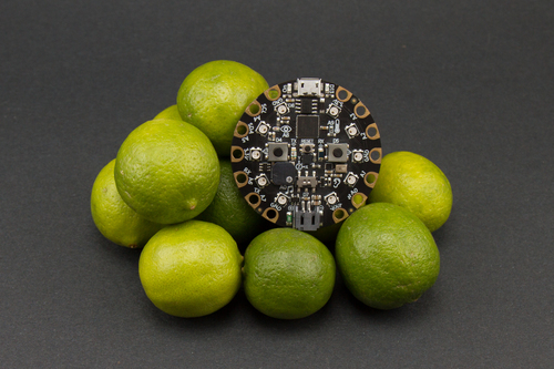 Circuit Playground Express: Piano in the Key of Lime