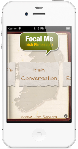 Focal Me irish words