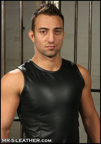 Leather Sports Tank Leighton