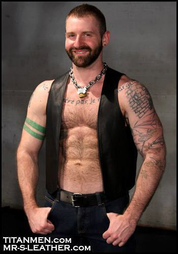 Leather Vest Dupree