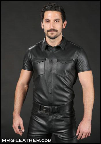 Classic Leather Shirt 35443