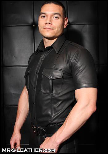 Naked Leather Police Shirt 99653