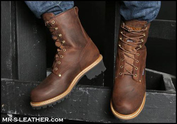 leather boots in Eden 27288