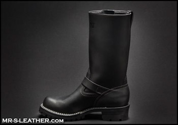 leather boots in Crescent 51526