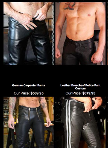 leather pants in Cushing 51018