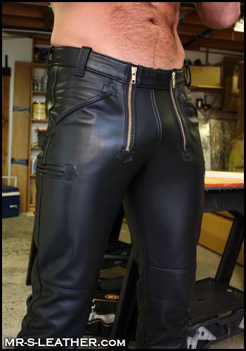 leather pants in Peoples 40467