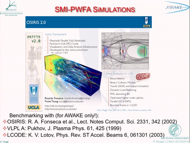 Plasma Wakefield Acceleration of Charged Particles - MIPSE