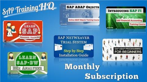 SAP Training Monthly
