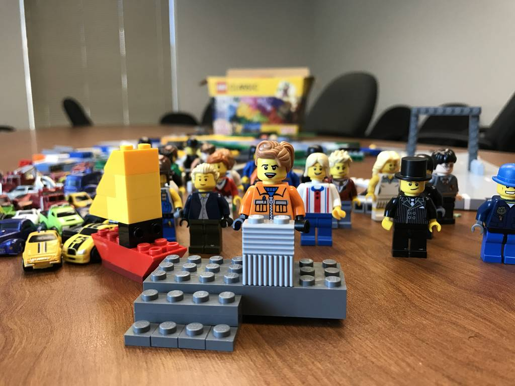I explained a local news story in stop-motion Legos  Here's