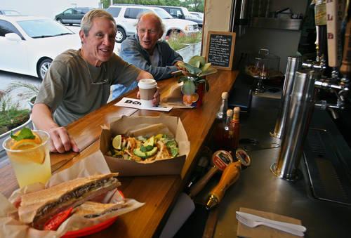 Order at Bodega's open window.  [SCOTT KEELER  |  Times]