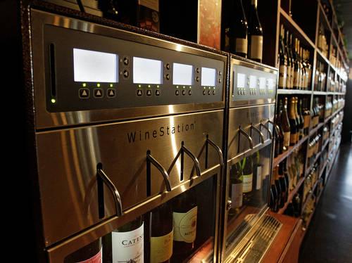 WineStation at the bar  [Times file]
