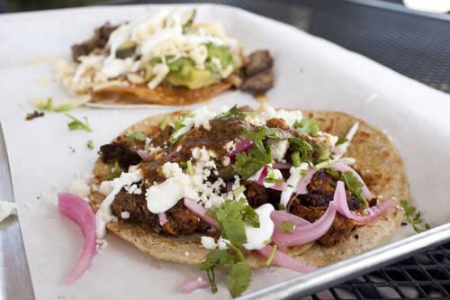Cochinita Pibil taco [EVE EDELHEIT  |  Times]