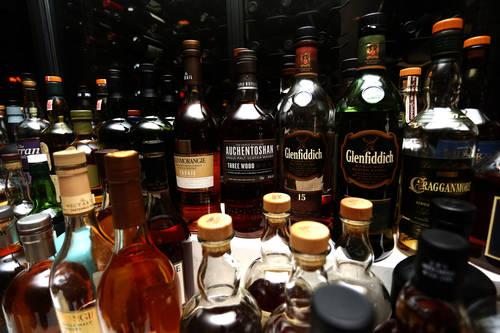 A variety of Scotch whiskies  [OCTAVIO JONES  |  Times]