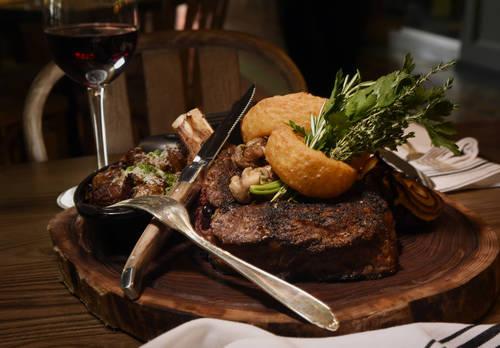 Beef ribeye  [CHRIS URSO |  Times]