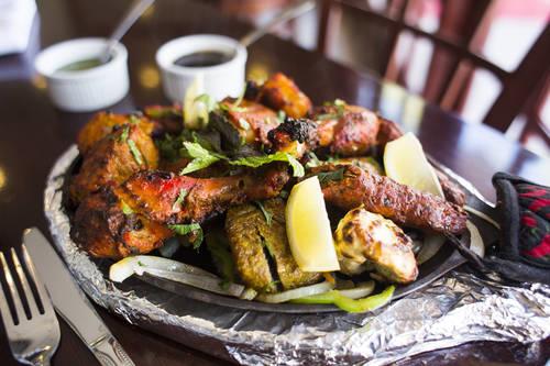 Rasoi mixed grill  [OCTAVIO JONES  |  Times ]