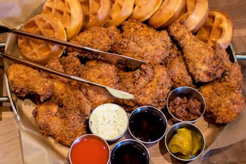 Fried chicken  [ALESSANDRA DA PRA  |  Times]