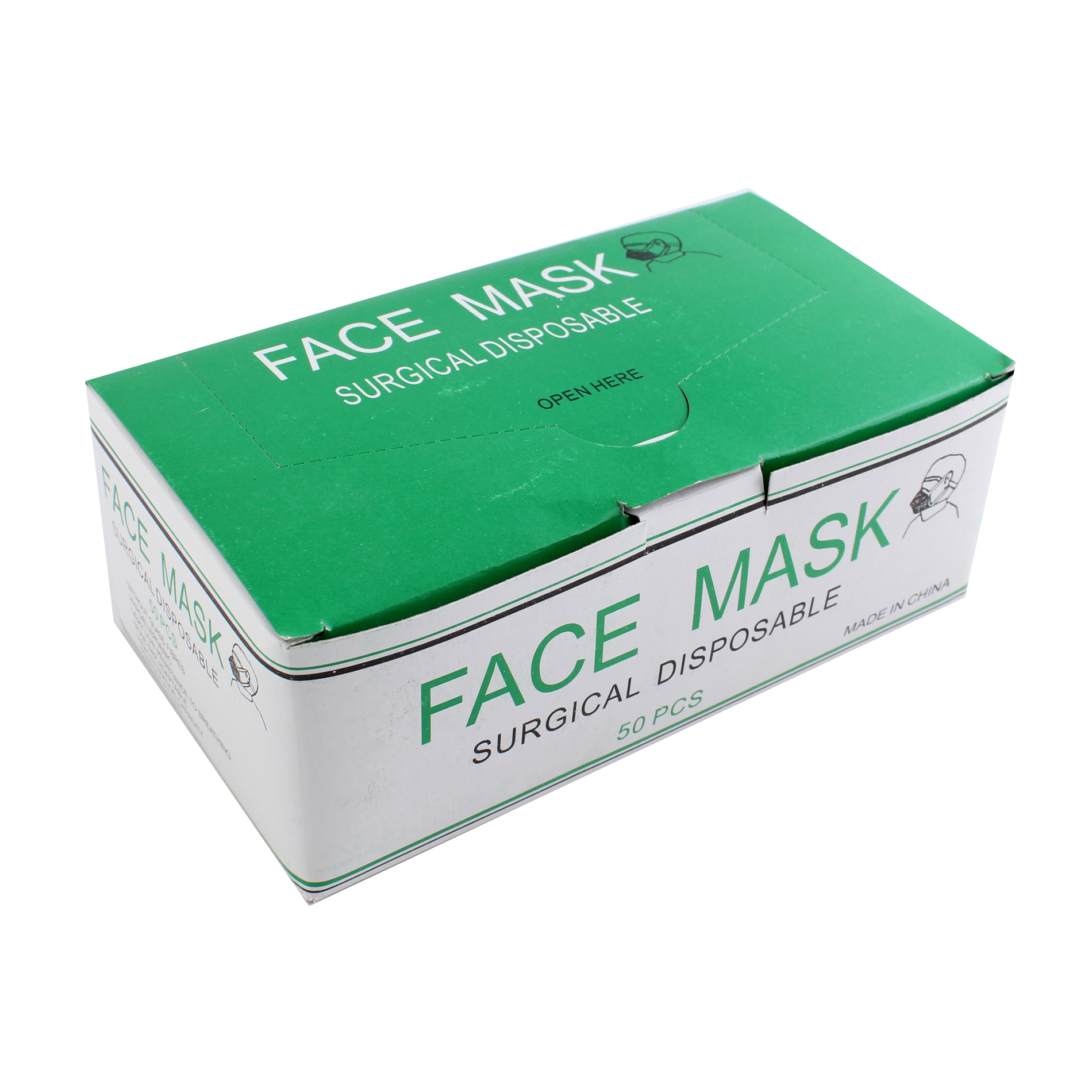 Dust Dental Surgical Salon Masks 50 Face Blue Disposable Details Mask Medical About