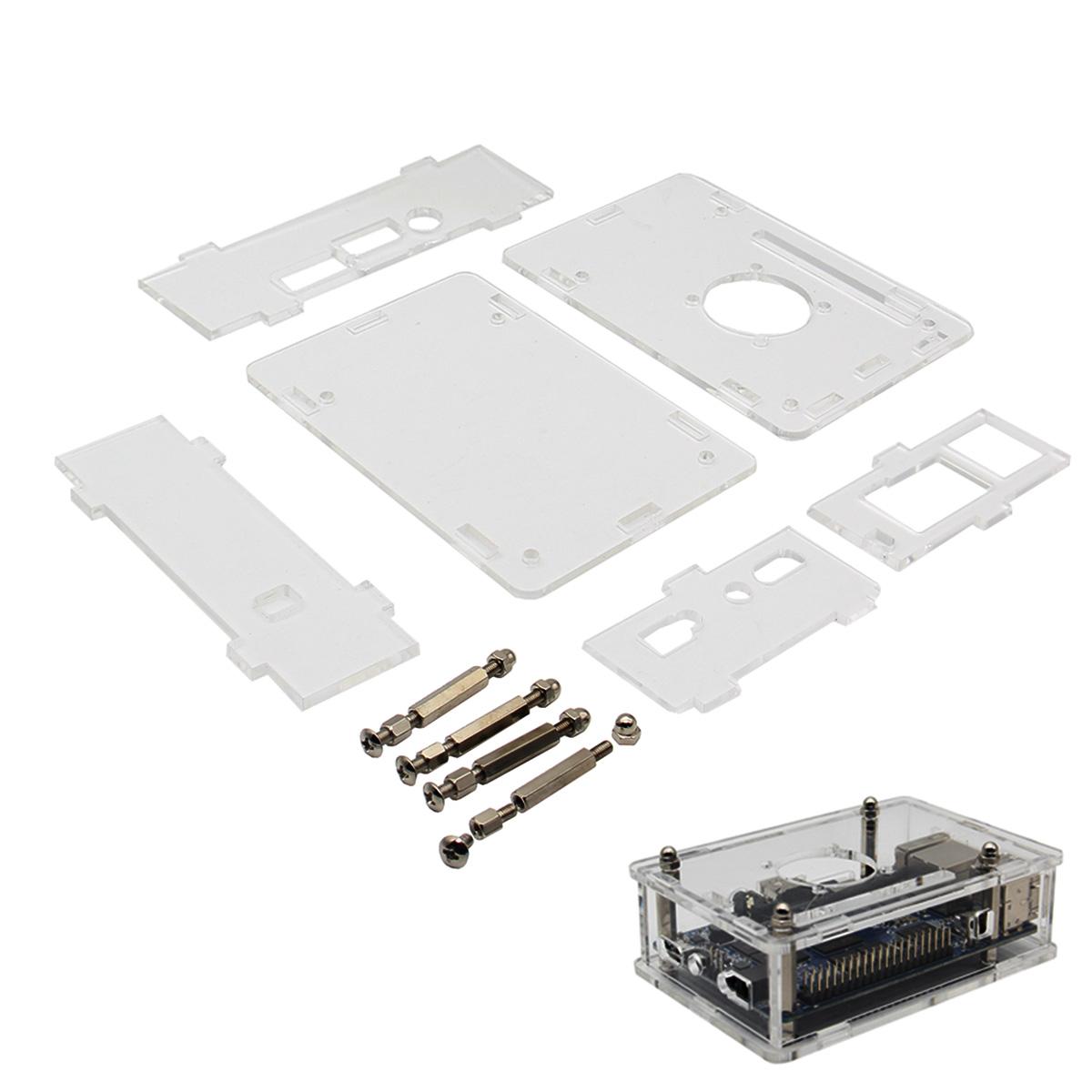 Acrylic Plastic Enclosure Box Shell For Orange Pi PC PC 2 Plus