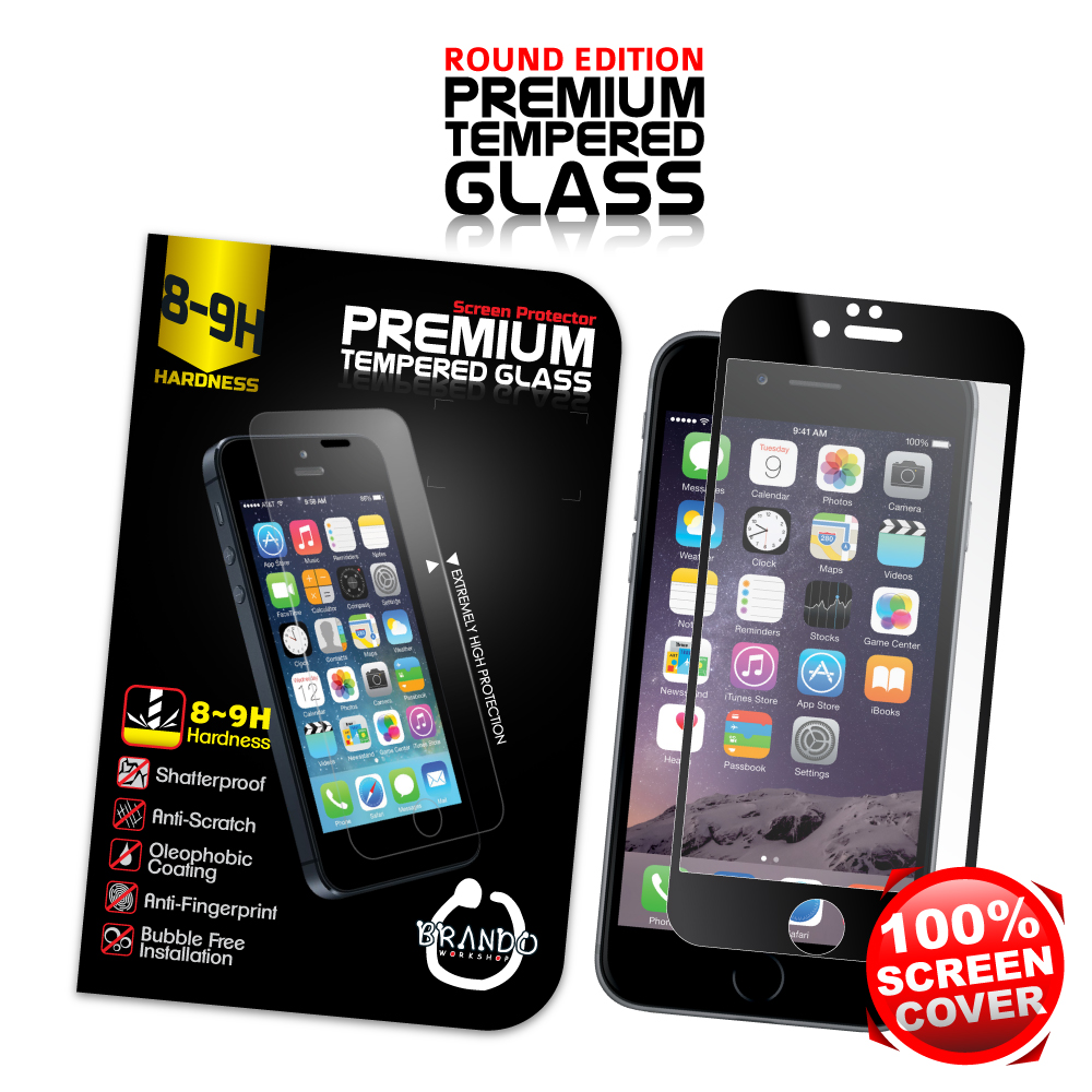 Brando Workshop Full Screen Coverage Glass Protector for ...