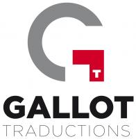 GALLOT TRADUCTIONS logo