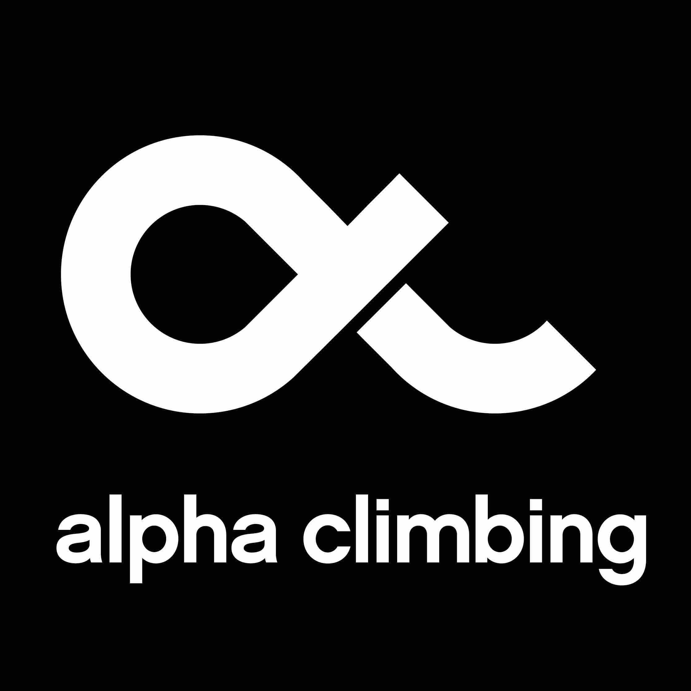 Alpha Climbing logo