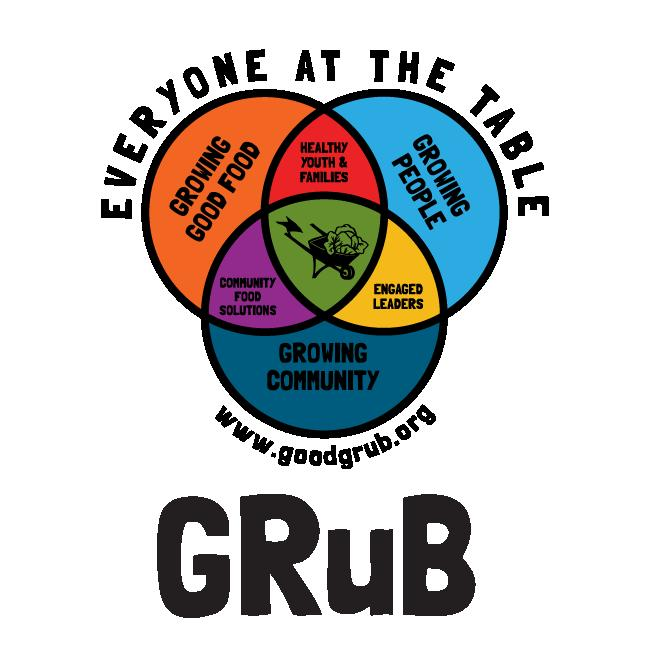 GRuB (Garden-Raised Bounty) logo