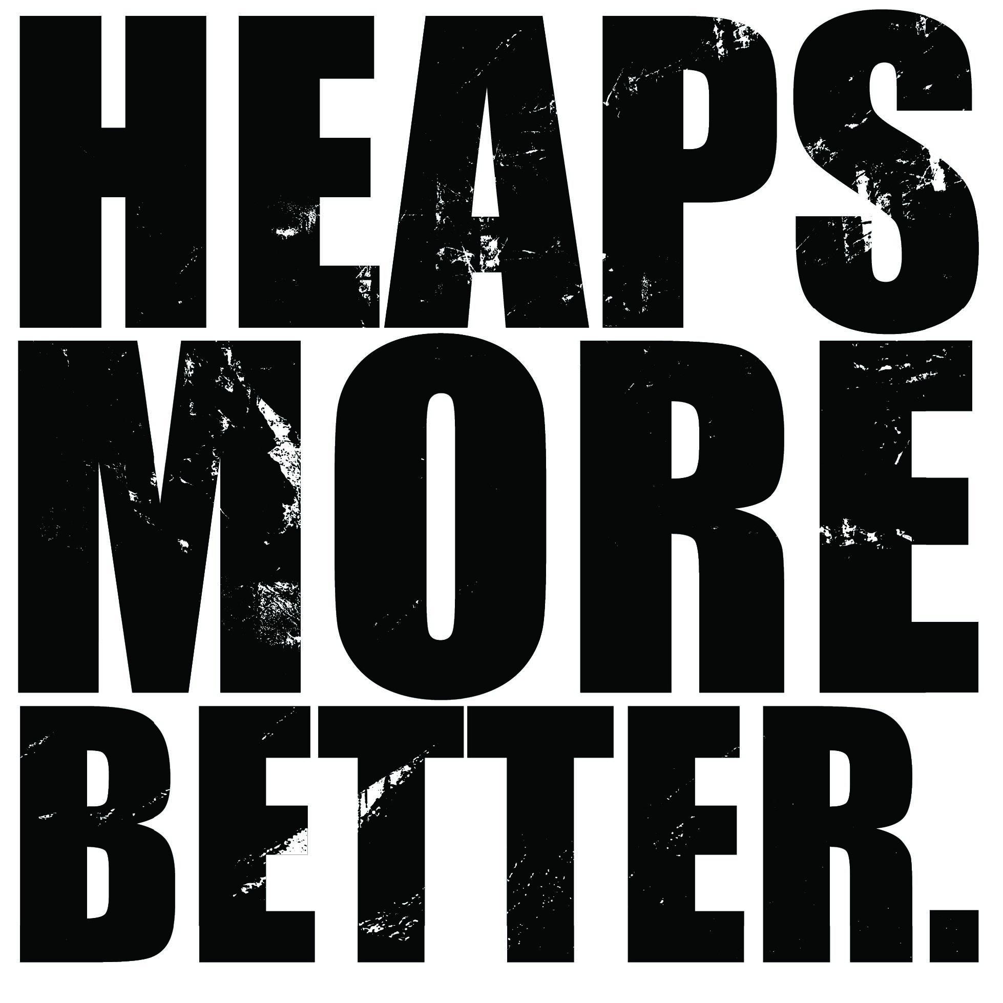 Heaps More Better logo
