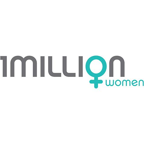 1 Million Women logo