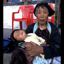 Madonna and Child ~ taken in Bhutan by Paul in 2003 (his ticket to the Corcoran College of Art & Design, where he received his Bachelor of Fine Arts in photography)